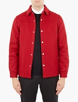 A.p.c. Red Wool Paolo Jacket