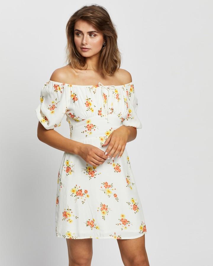 Faithfull The Brand Women's Multi Mini Dresses - Pippa Mini Dress - Size S at The Iconic
