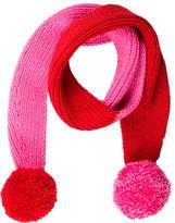 Kate Spade Knit Pom-Pom Scarf