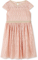Speechless Blush Lace Skater Dress, Toddler & Little Girls (2T-6X)