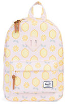 Herschel Supply Co Heritage Lemon Drop Printed Backpack