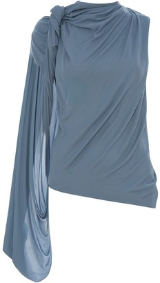 J.W.Anderson One-Sleeved Draped Top