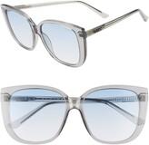 Quay x Chrissy Teigen Ever After 59mm Cat Eye Sunglasses