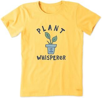 Life is Good Women's Plant Whisperer Crusher Tee