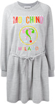 Moschino multicolour logo sweatshirt dress - women - Polyester/Viscose - 38