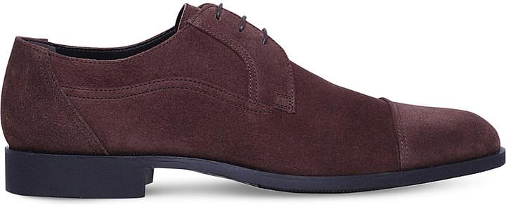 Stemar Suede Derby shoes