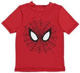 "Spiderman Little Boys' Toddler ""Webbed Eyes"" Rash Guard"