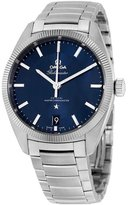 Omega Men's Steel Bracelet & Case Sapphire Crystal Automatic Dial Analog Watch 130.30.39.21.03.001