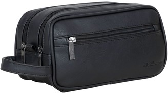 Ben Sherman Dual Compartment Top Zip Travel Kit& Toiletry Bag