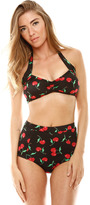 Koo-J Kooj Cherries High Waisted bikini