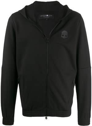 Hydrogen skull print hoodie