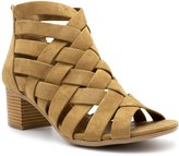 City Classified MVE Shoes Women's Peep Toe Lace Up Cut Out Gladiator, Cut Out Back Zip Wedge Sandals, Wedge Heel Ankle Booties, MVE Shoes mve shoes horizon natural size 10