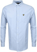 Lyle & Scott Oxford Shirt Blue