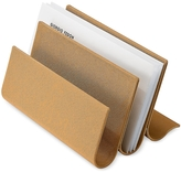 Giorgio Fedon Camel Desk Letter Holder