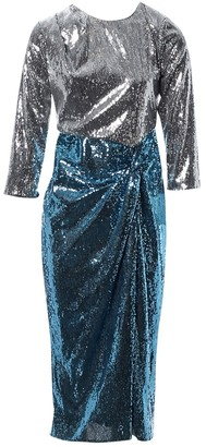 Christian Pellizzari Silver Dress for Women