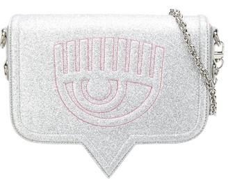 Chiara Ferragni Embossed Logo Crossbody Bag