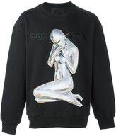 Juun.J x Hajime Sorayama print sweatshirt - men - Cotton/Polyester - 46