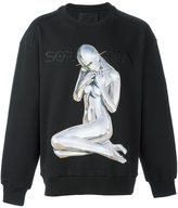 Juun.J x Hajime Sorayama print sweatshirt