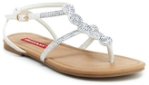 UNIONBAY Union Bay Twist Flat Sandal