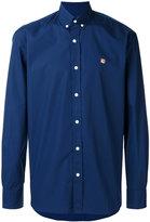 MAISON KITSUNÉ button down collar shirt - men - Cotton - 38