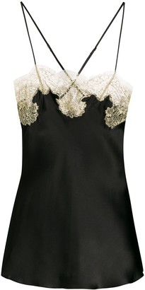Gilda and Pearl Lace Trim Camisole