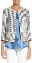 Lafayette 148 New York Women's Aisha Playa Tweed Jacket