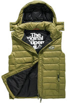 Superdry Fuji Double Zip Hooded Gilet