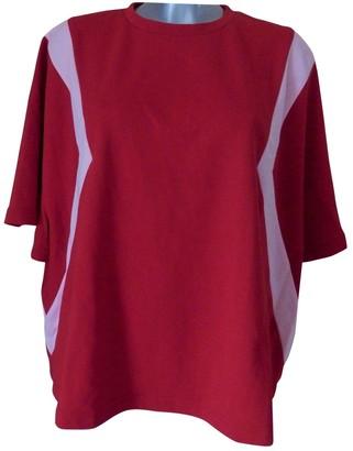 Koché Red Cotton Knitwear