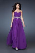 La Femme Gigi GiGi - 18001 Stardust Dream Strapless Sweetheart A-Line Gown