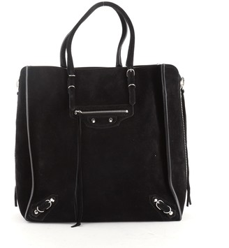 Primero Cíclope Reciclar  Balenciaga Suede Bags | Shop the world's largest collection of fashion |  ShopStyle