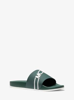 Michael Kors Jake Logo Slide Sandal
