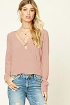 Forever 21 FOREVER 21+ Strappy Surplice Top