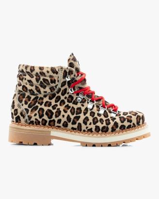 Montelliana Leopard Marlena Shearling Boot
