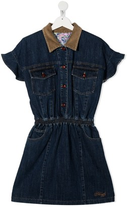 Philosophy Di Lorenzo Serafini Kids TEEN denim dress
