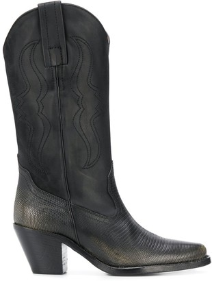 Philosophy di Lorenzo Serafini Cowboy Pointed Boots