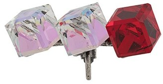 Saint Laurent Crystal-Embellished Single Earring