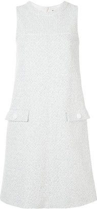 Paule Ka Sleeveless Shift Dress