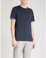 The Kooples Brand-embroidered Cotton T-shirt