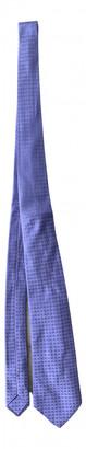 Hermes Purple Silk Ties