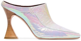 Sies Marjan Dena 100 hologram leather mules