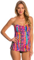 Seafolly Mexican Summer Trapeze Tankini Top (C/D Cup) 8148641