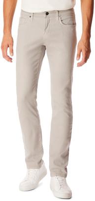 J Brand Men's Kane Straight-Leg Lightweight Cotton-Linen Pants