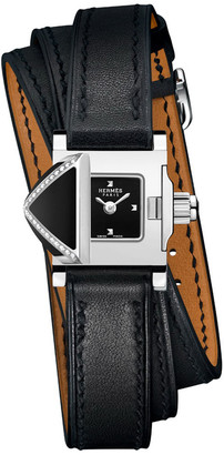 Hermes Medor Rock Watch, 16 x 16 mm
