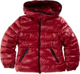 Moncler Hooded Zip Front Jacket