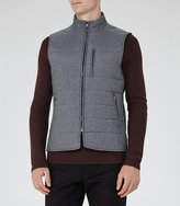 Reiss House Quilted Gilet