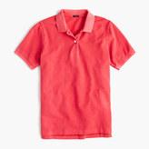 J.Crew Garment-dyed piqué polo shirt