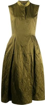 Aspesi Creased Flared Dress