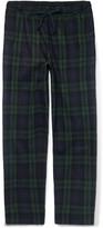 Sleepy Jones - Hoffman Checked Cotton-flannel Pyjama Trousers