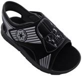 Star Wars Rebels Star Wars Toddler Boys' Darth Vader Footbed Sandals - Black