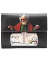 Undercover jesus print wallet